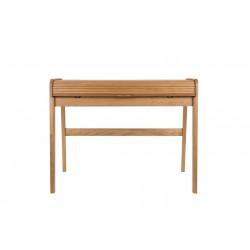 Bureau original BARBIER en bois par Zuiver