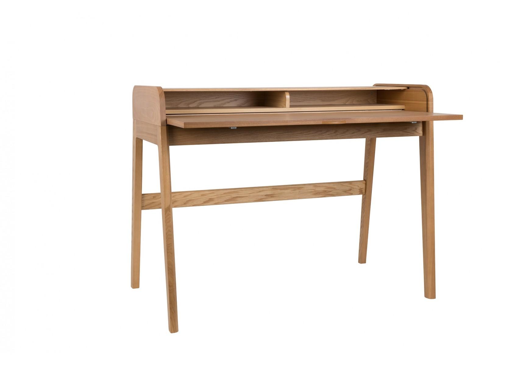 bureau design barbier d co en bois par zuiver. Black Bedroom Furniture Sets. Home Design Ideas