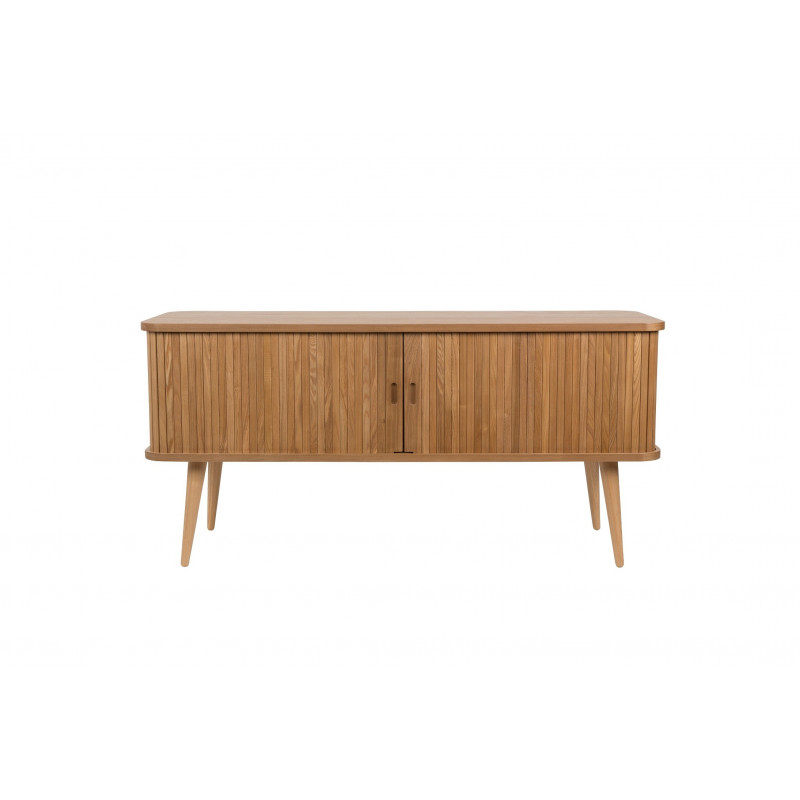 Buffet en bois au design scandinave sideboard barbier par for Meuble tv zuiver