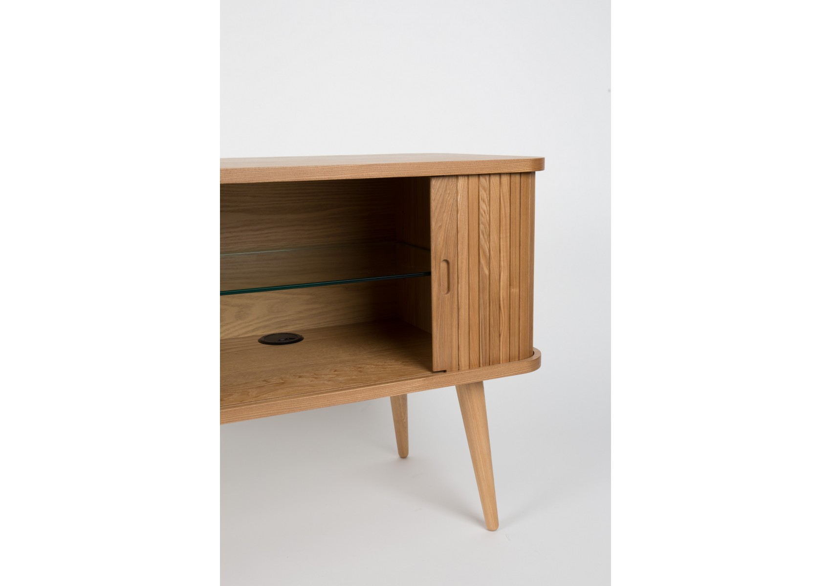 Buffet en bois au design scandinave sideboard barbier par - Meuble de barbier ...
