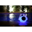 Lampe design- Enceinte et LED- Wazowsky