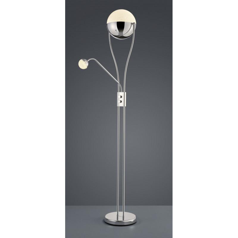Lampadaire design LED deux globes - Chris