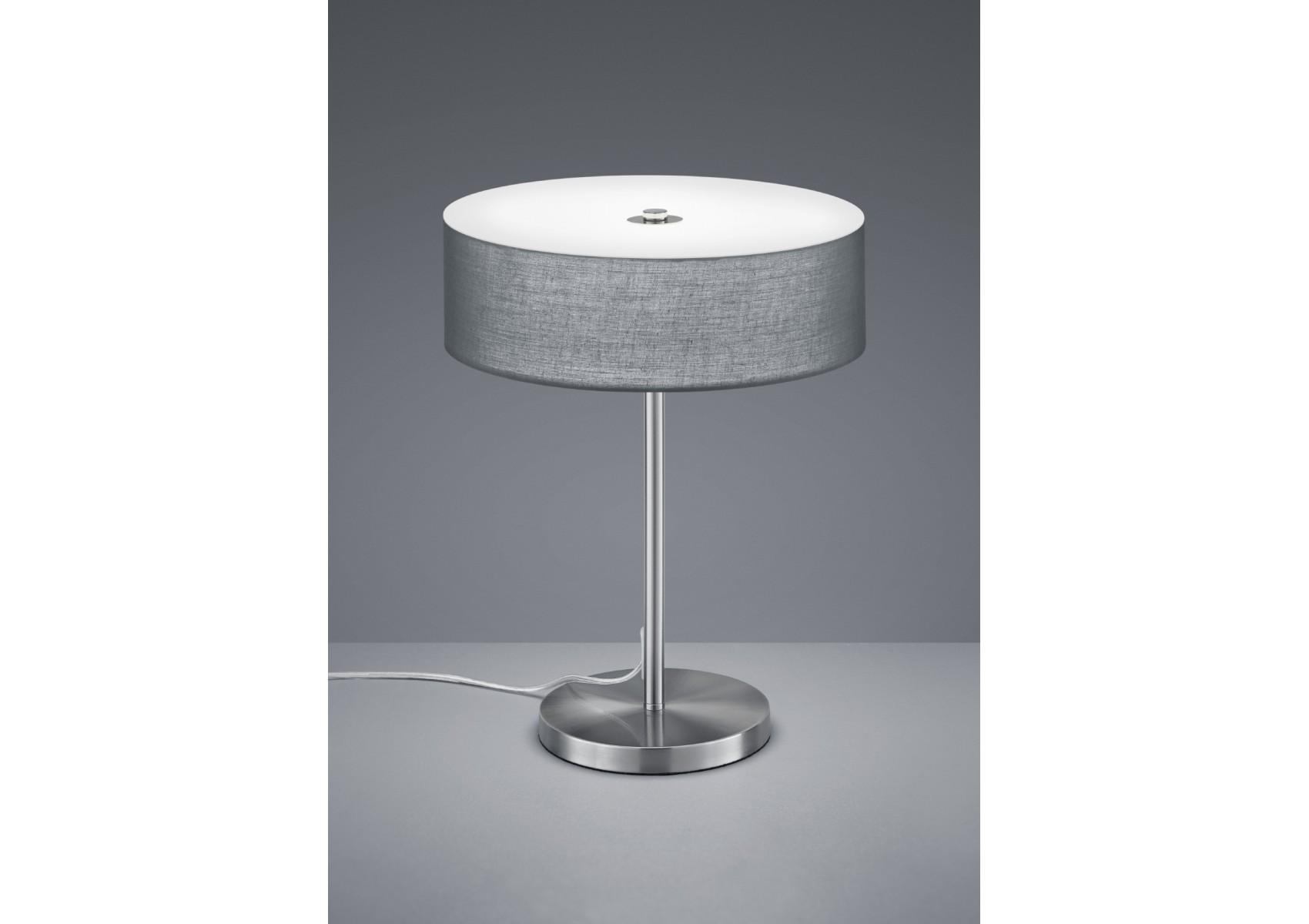 lampe poser design led de la collection lugano de chez trio. Black Bedroom Furniture Sets. Home Design Ideas