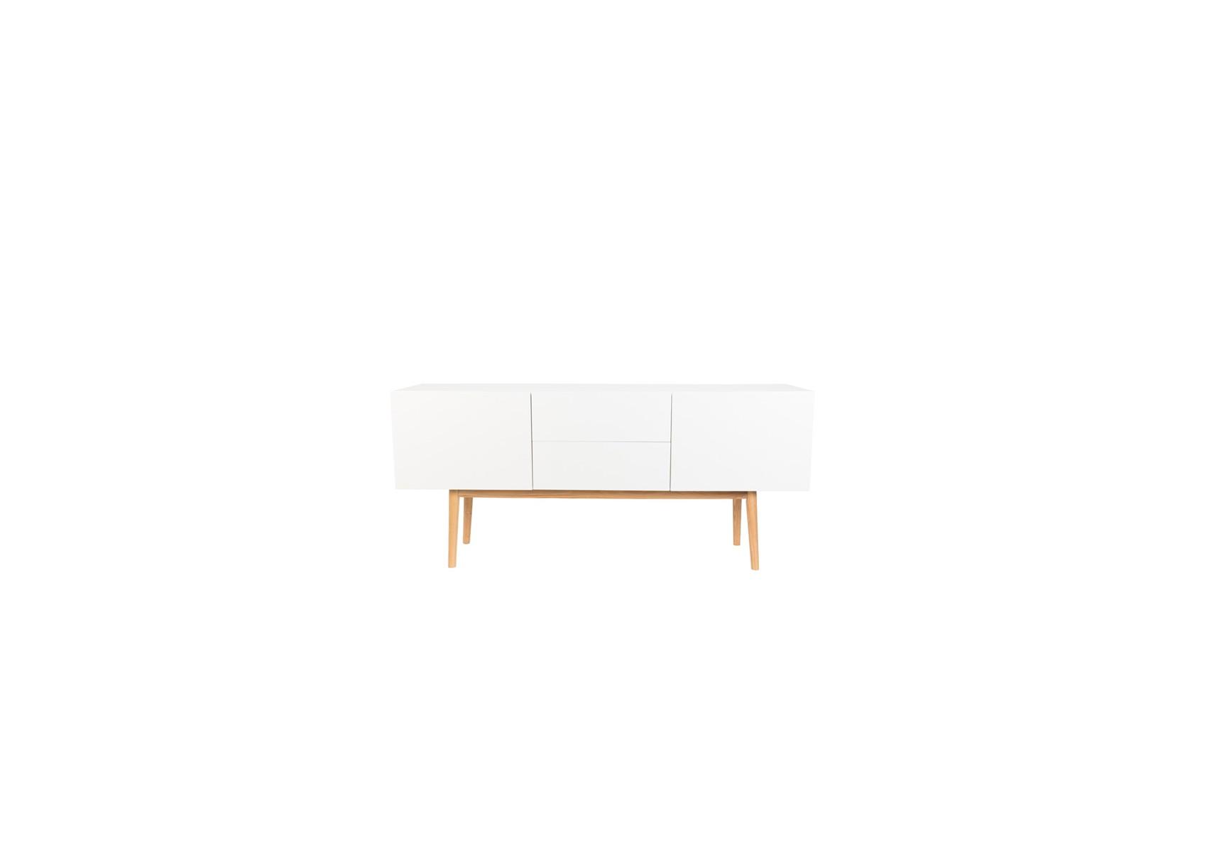 Meuble tv et buffet design high on wood de la marque zuiver - Meuble tv buffet design ...