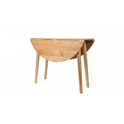 Table ronde design Foldy 100