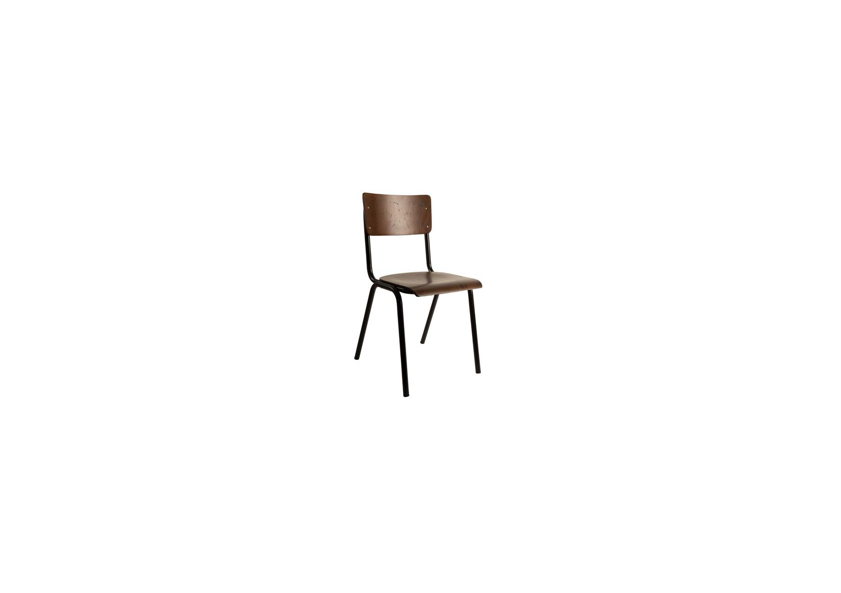 chaise d 39 colier design de la collection scuola de chez dutch bone. Black Bedroom Furniture Sets. Home Design Ideas