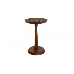 Table d'appoint design Sheesham