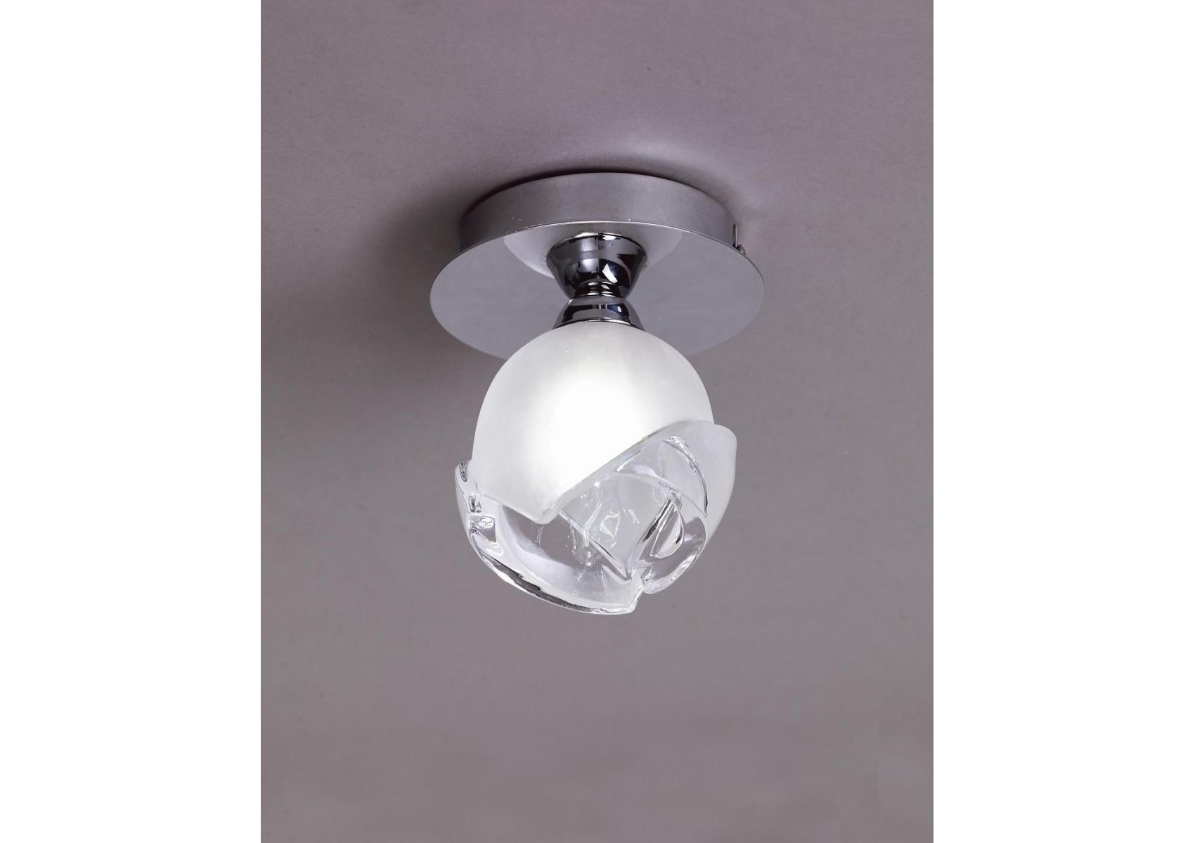 plafonnier design bali cromo 1l ampoule g9 osram mantra 5 Luxe Plafonnier Ampoule Uqw1