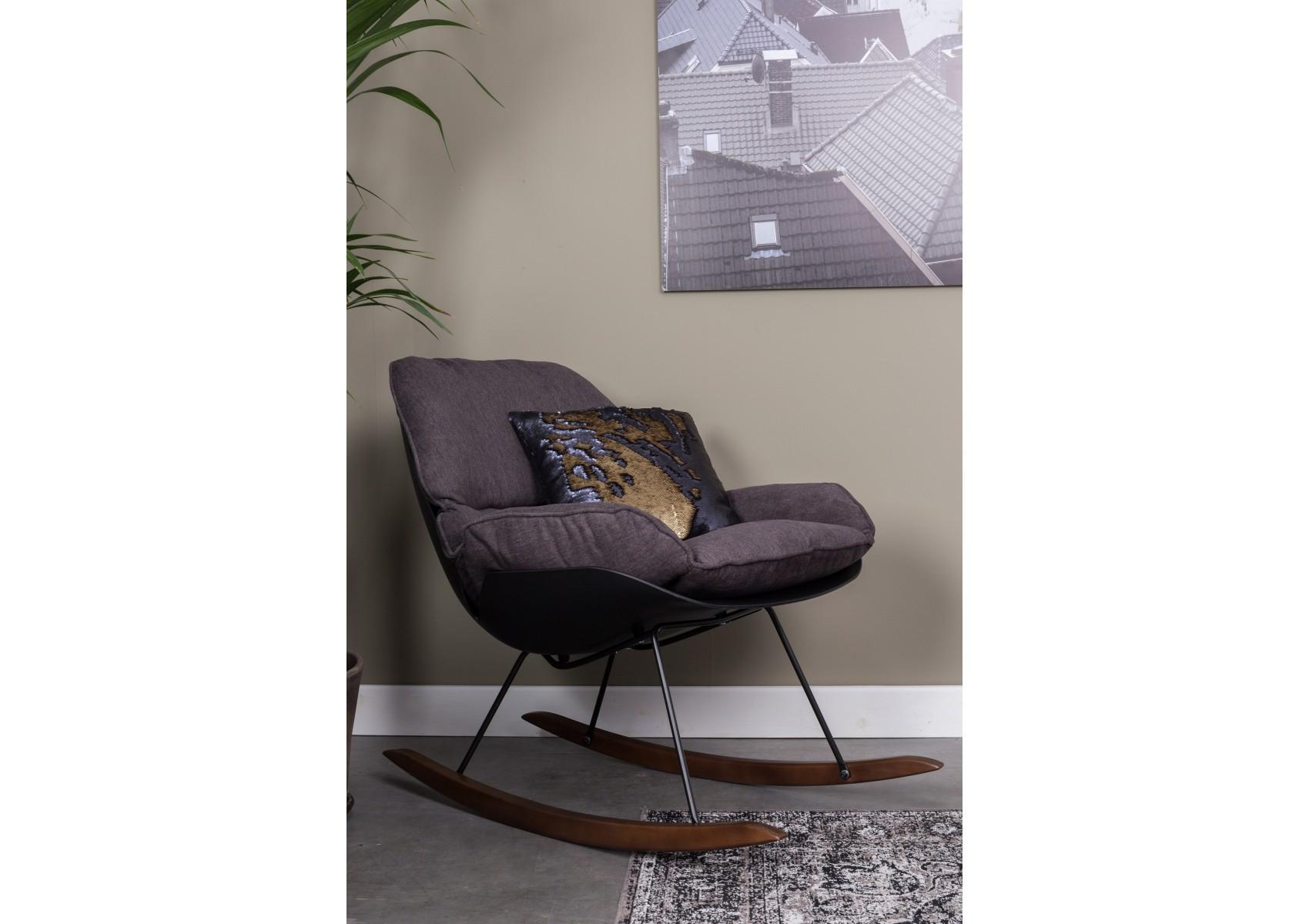 Fauteuil bascule de la collection rocky de chez boite - Fauteuil rocking chair design ...