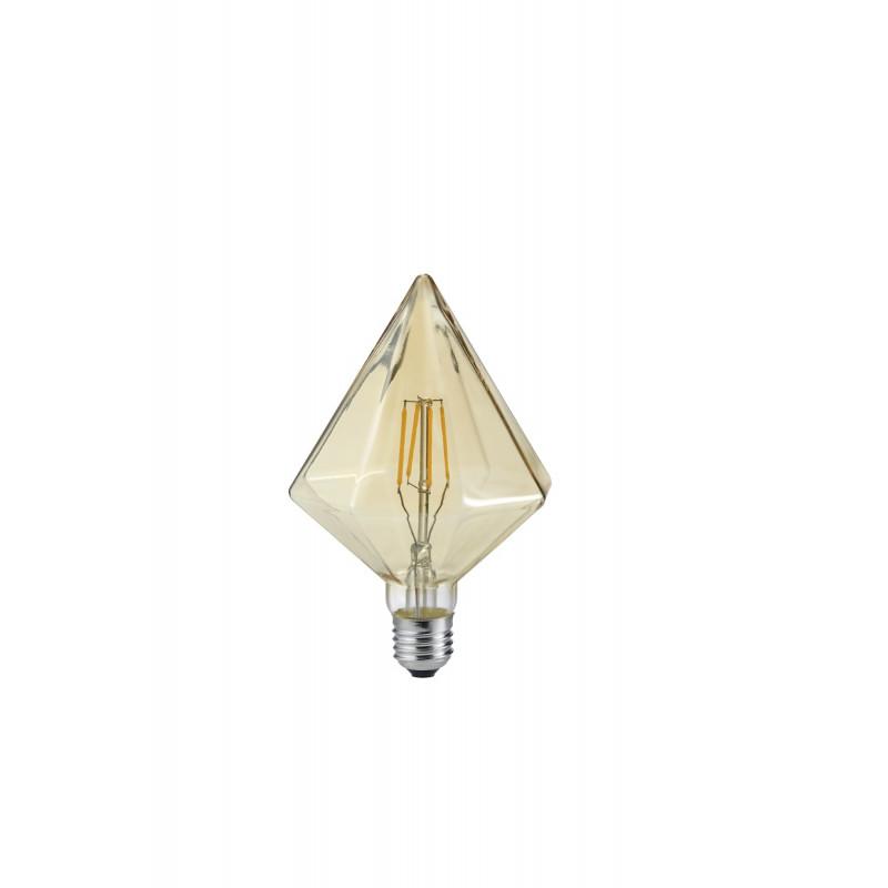 Ampoule E27 LED déco Cristal