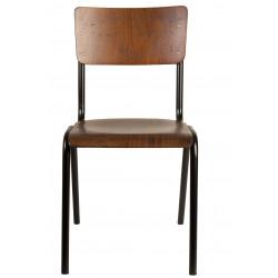Chaise écolier design Scuola par Dutch Bone