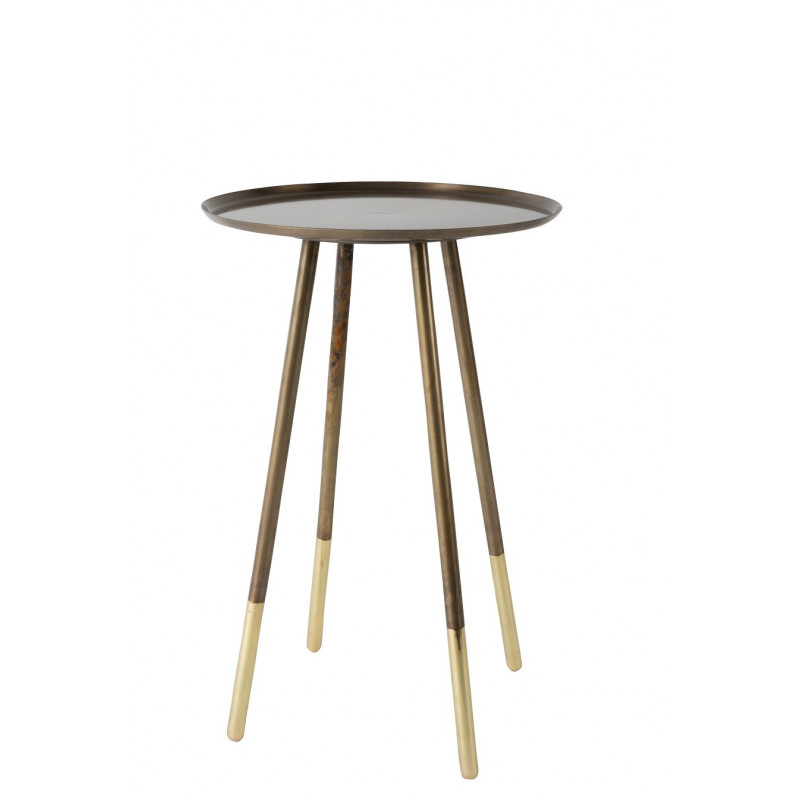 table d 39 appoint design de la colelction eliot de chez dutch bone. Black Bedroom Furniture Sets. Home Design Ideas