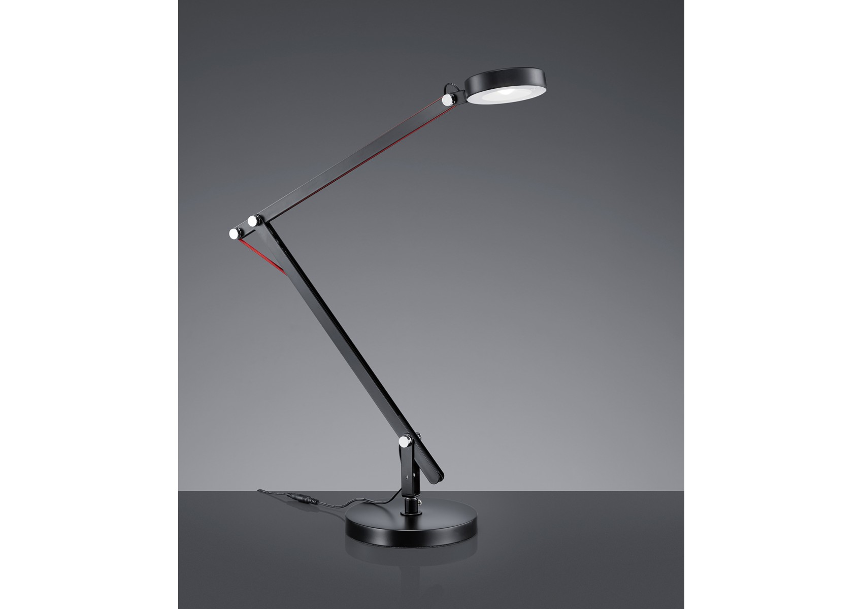 lampe de bureau amsterdam led avec trois fixations possibles. Black Bedroom Furniture Sets. Home Design Ideas