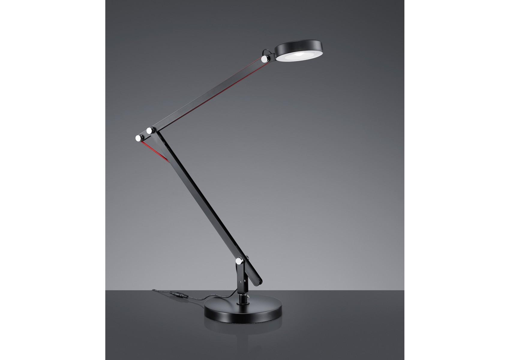 lampe de bureau amsterdam led avec trois fixations possibles. Black Bedroom Furniture Sets. Home Design Ideas
