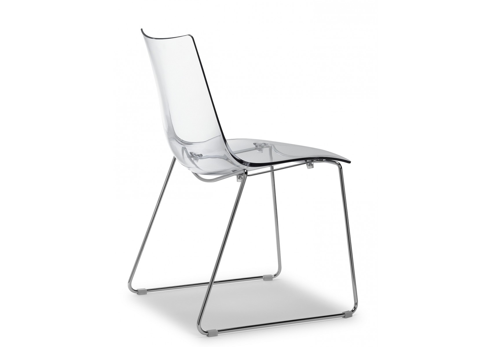Chaise design zebra pieds luge par scab design for Chaise un pied