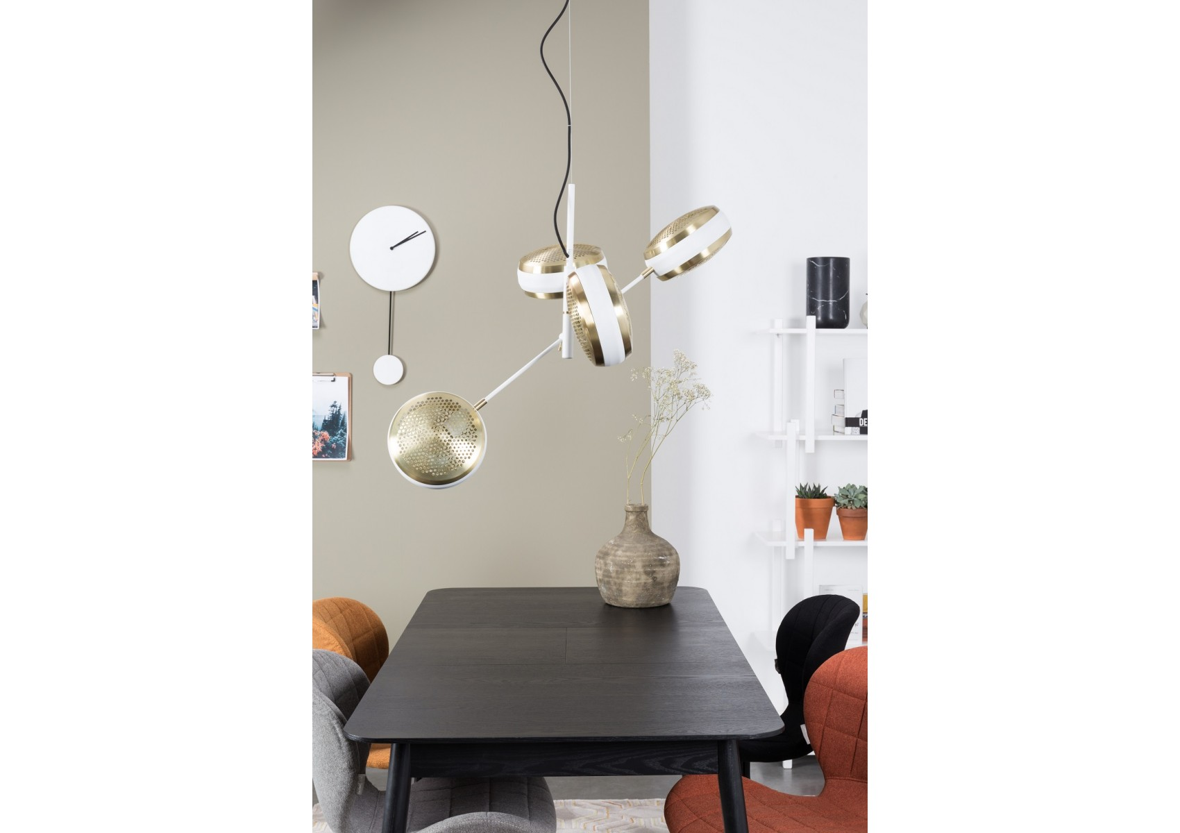 Suspension design de la collection gringo de chez zuiver for Suspension multiple design