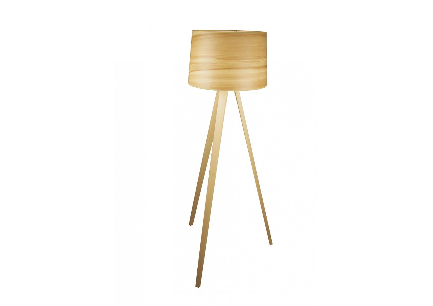 Lampadaire en bois design Essence par Aluminor # Lampadaire En Bois Design