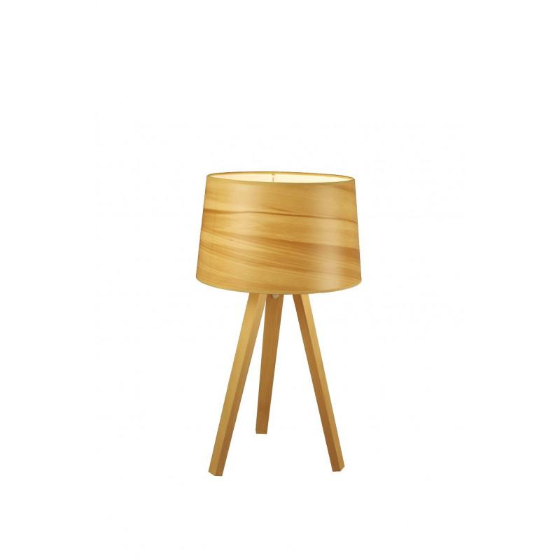 Lampe trépied en bois Essence par Aluminor