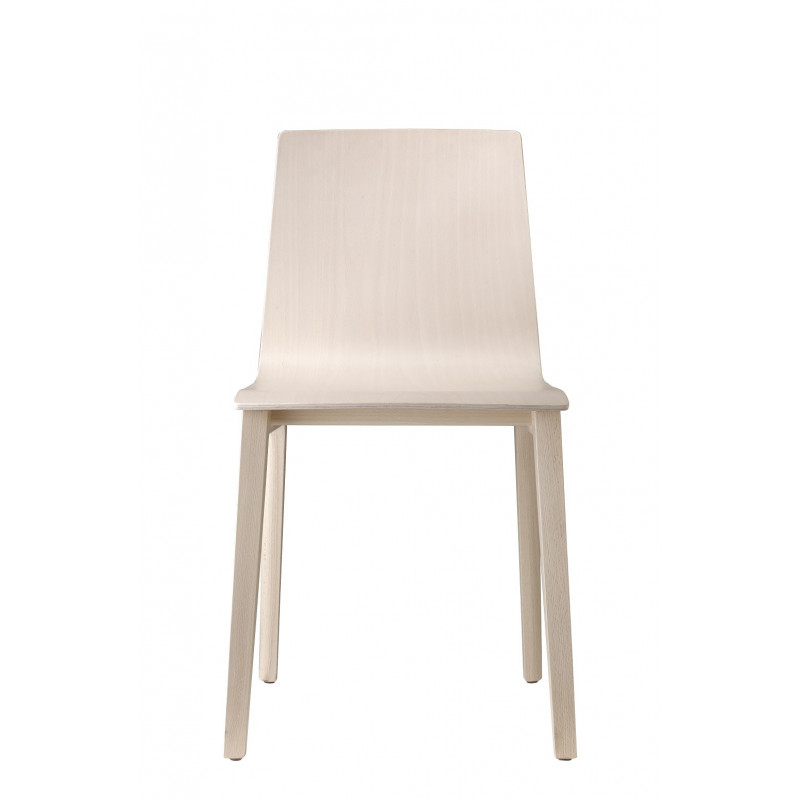 Chaise design en bois SMILLA par Scab design