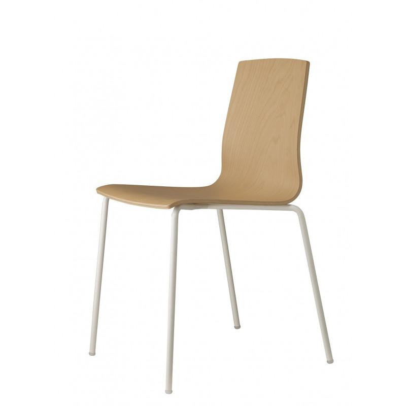 Chaise bois Alice par Scab design