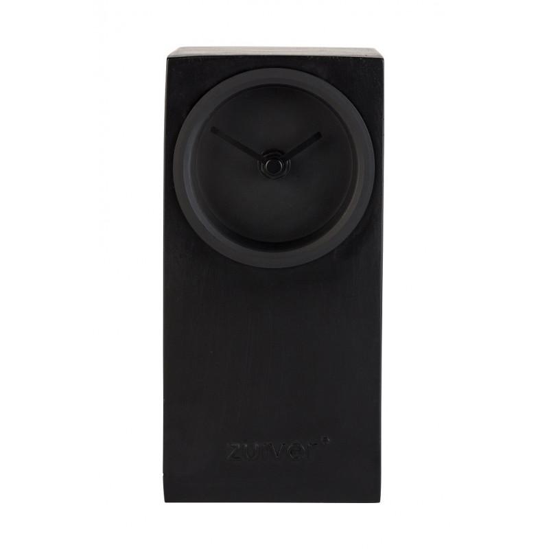 Horloge noire Brick  Zuiver