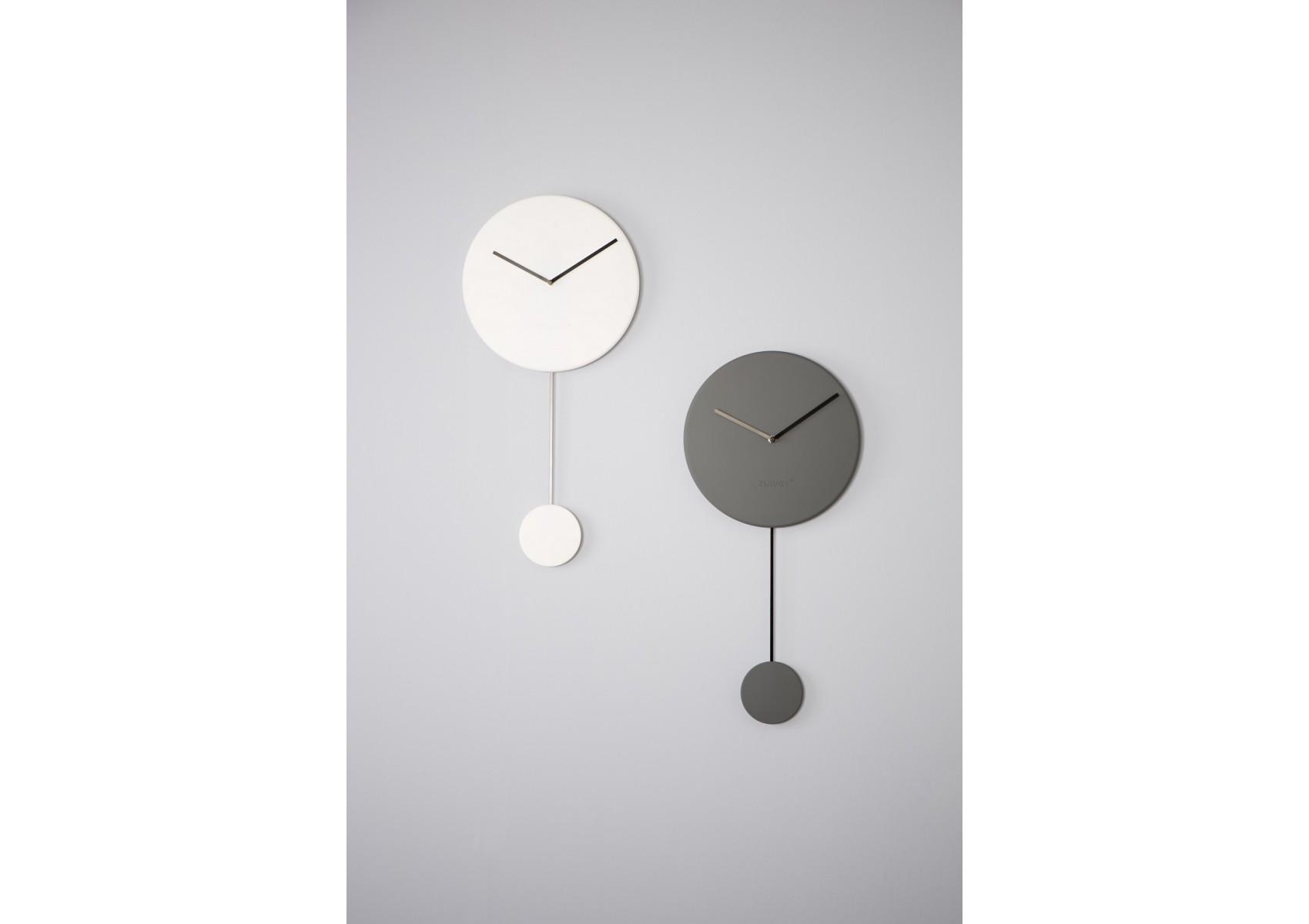 horloge design en pendule de la collection minimal de chez zuiver. Black Bedroom Furniture Sets. Home Design Ideas