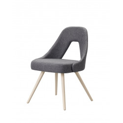Chaise design en tissu YOU par SCAB design