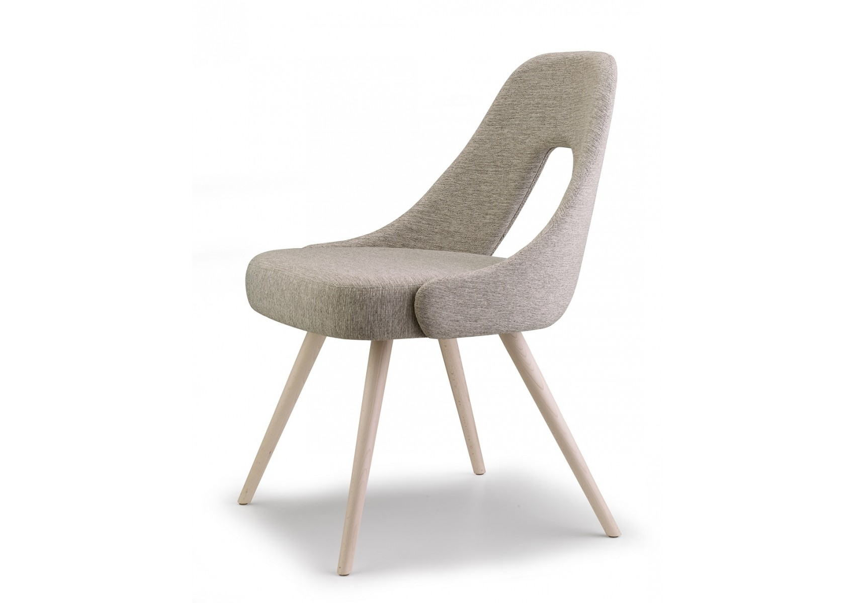 Chaise design en tissu you par scab design for Chaise tissu design