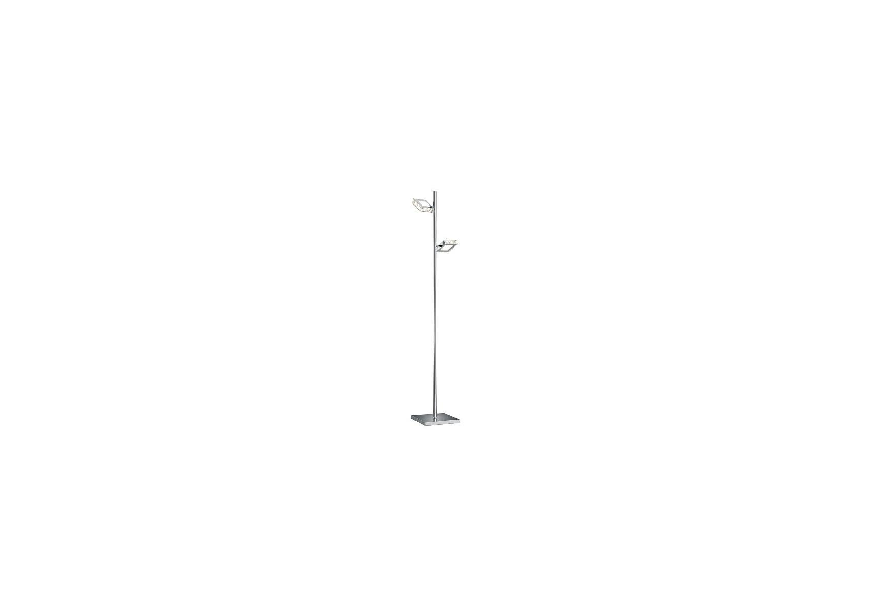 lampadaire led design grenoble 2 lampes boite design. Black Bedroom Furniture Sets. Home Design Ideas