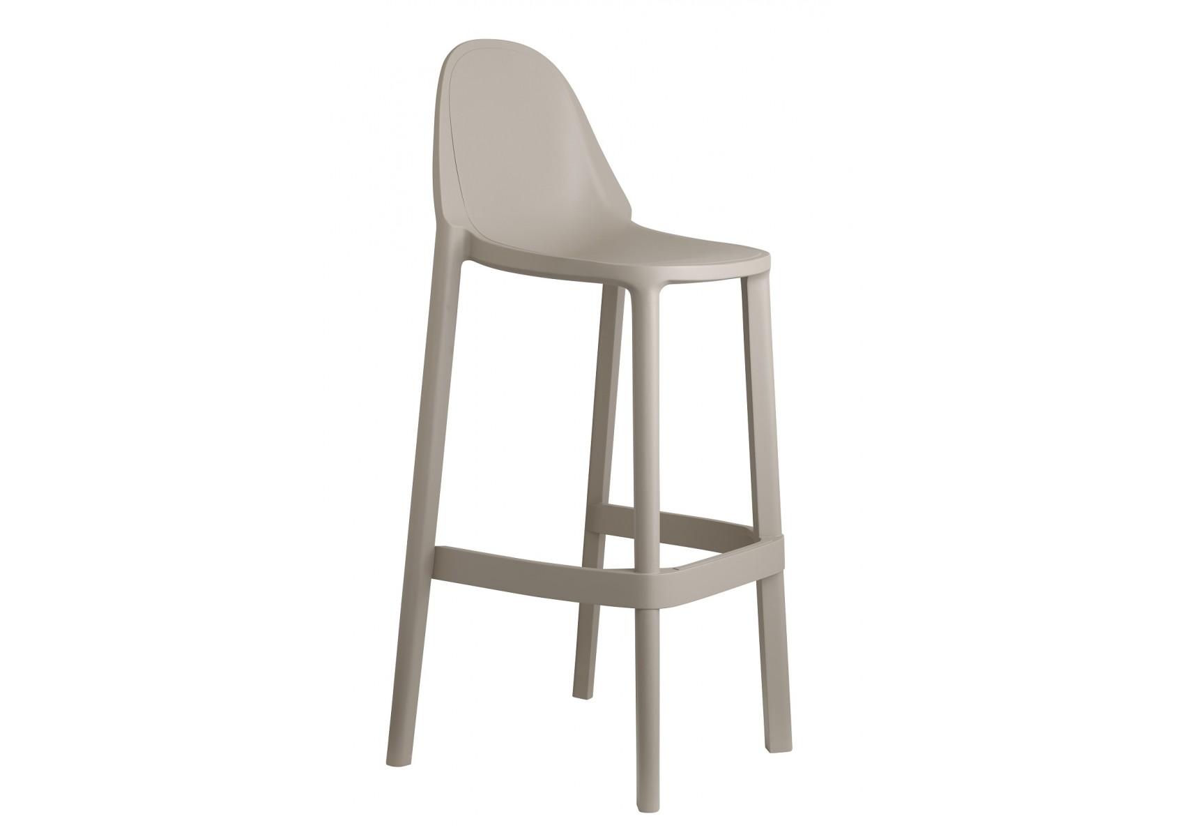 tabouret de bar piu 75 cm scab design. Black Bedroom Furniture Sets. Home Design Ideas