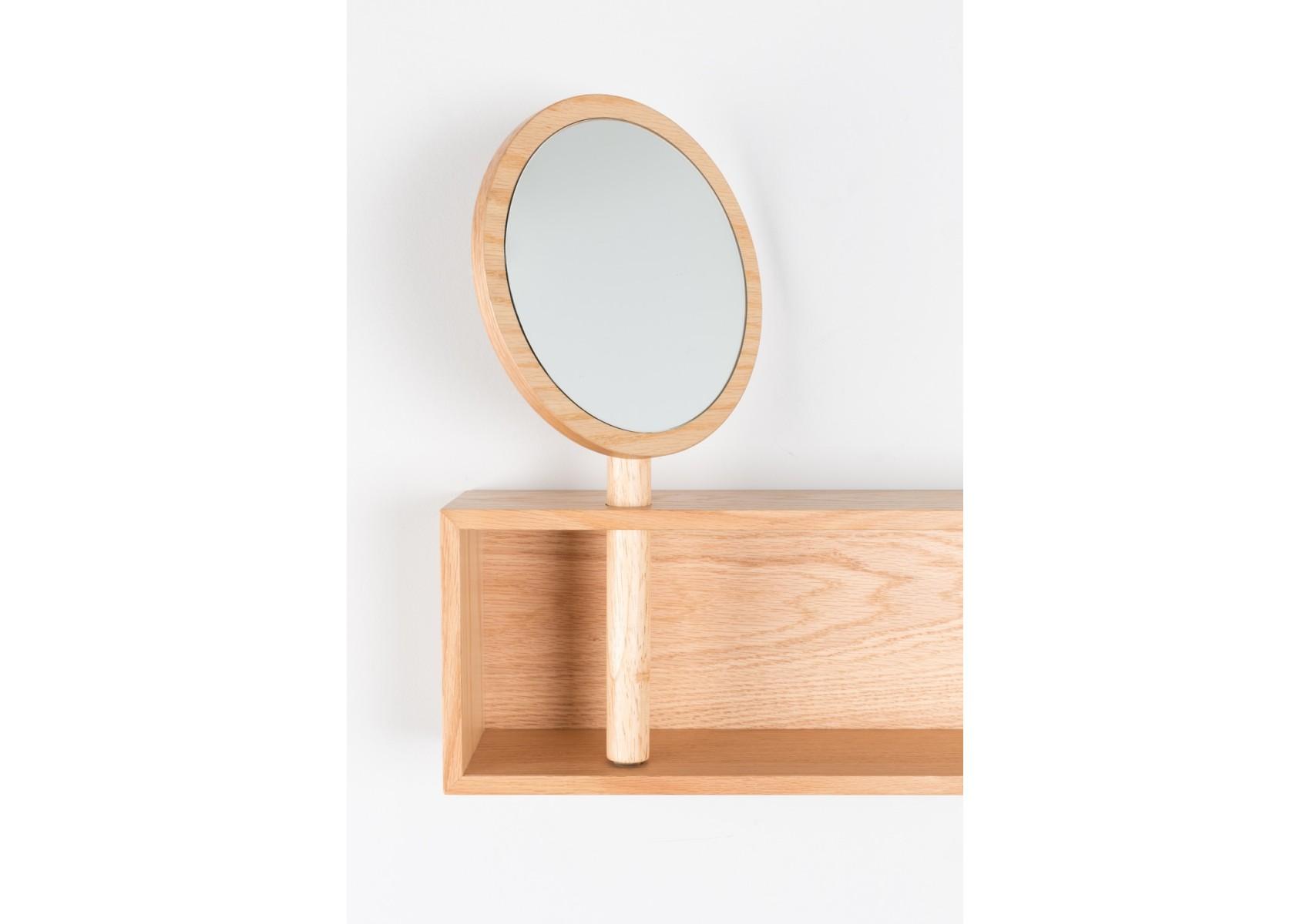 Etag re murale design avec miroir pivotant kandy zuiver for Miroir zuiver