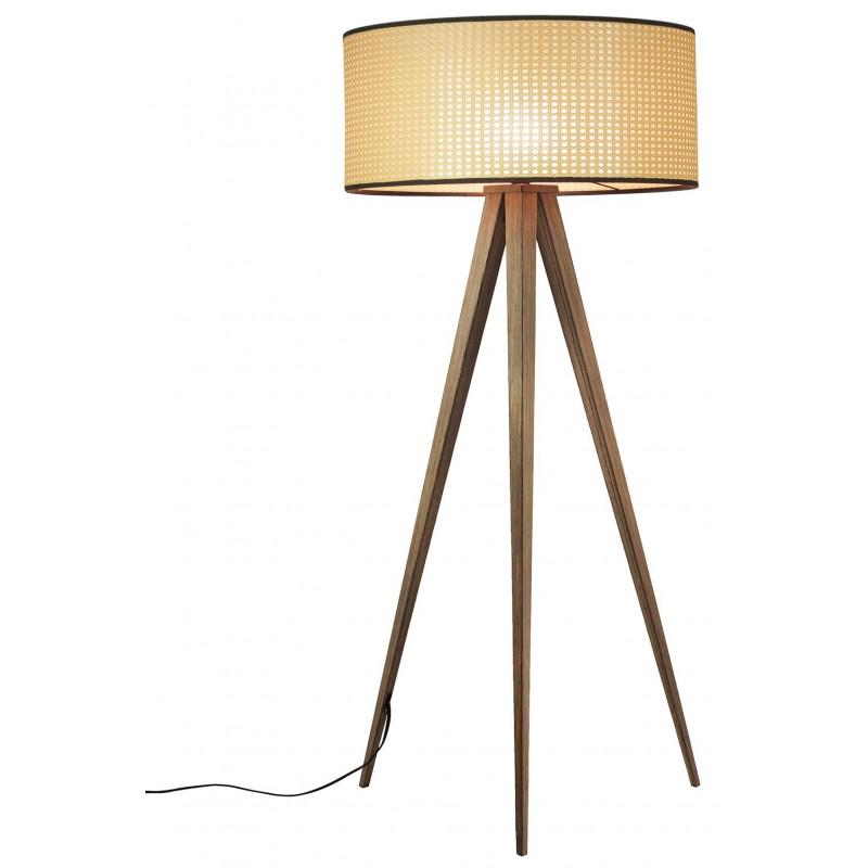Lampadaire de salon design à 3 pieds métal/plastique - Zuiver