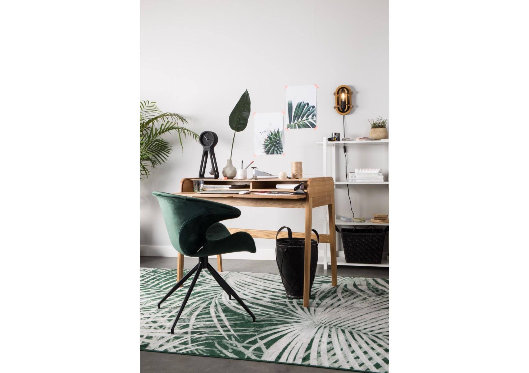 fauteuil de bureau design rev tement velours mia zuiver. Black Bedroom Furniture Sets. Home Design Ideas
