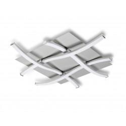 Plafonnier design carré - NUR - ampoule led deco mantra