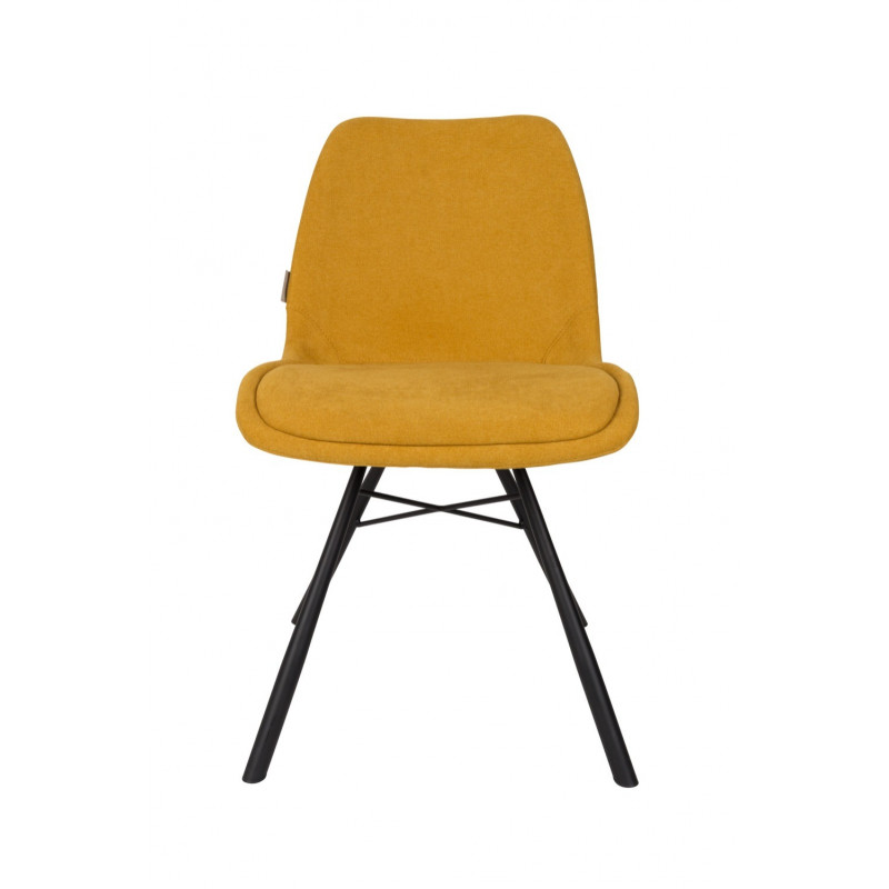 Fauteuil design coquille Brent - Zuiver