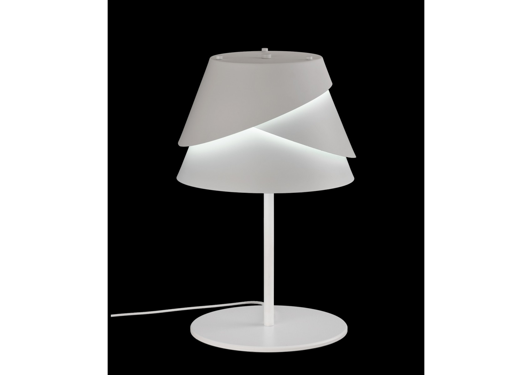 Lampe de table moderne alboran en m tal de chez mantra for Lampe de table rona