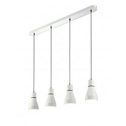 Suspension 4 lampes KOS - Mantra
