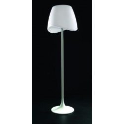 Lampadaire design de la collection cool blanc ext rieur de for Lampadaire design exterieur