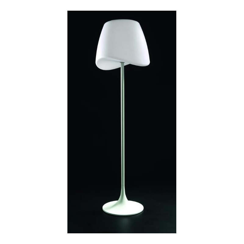 Lampadaire design de la collection cool blanc ext rieur de for Lampadaire exterieur blanc