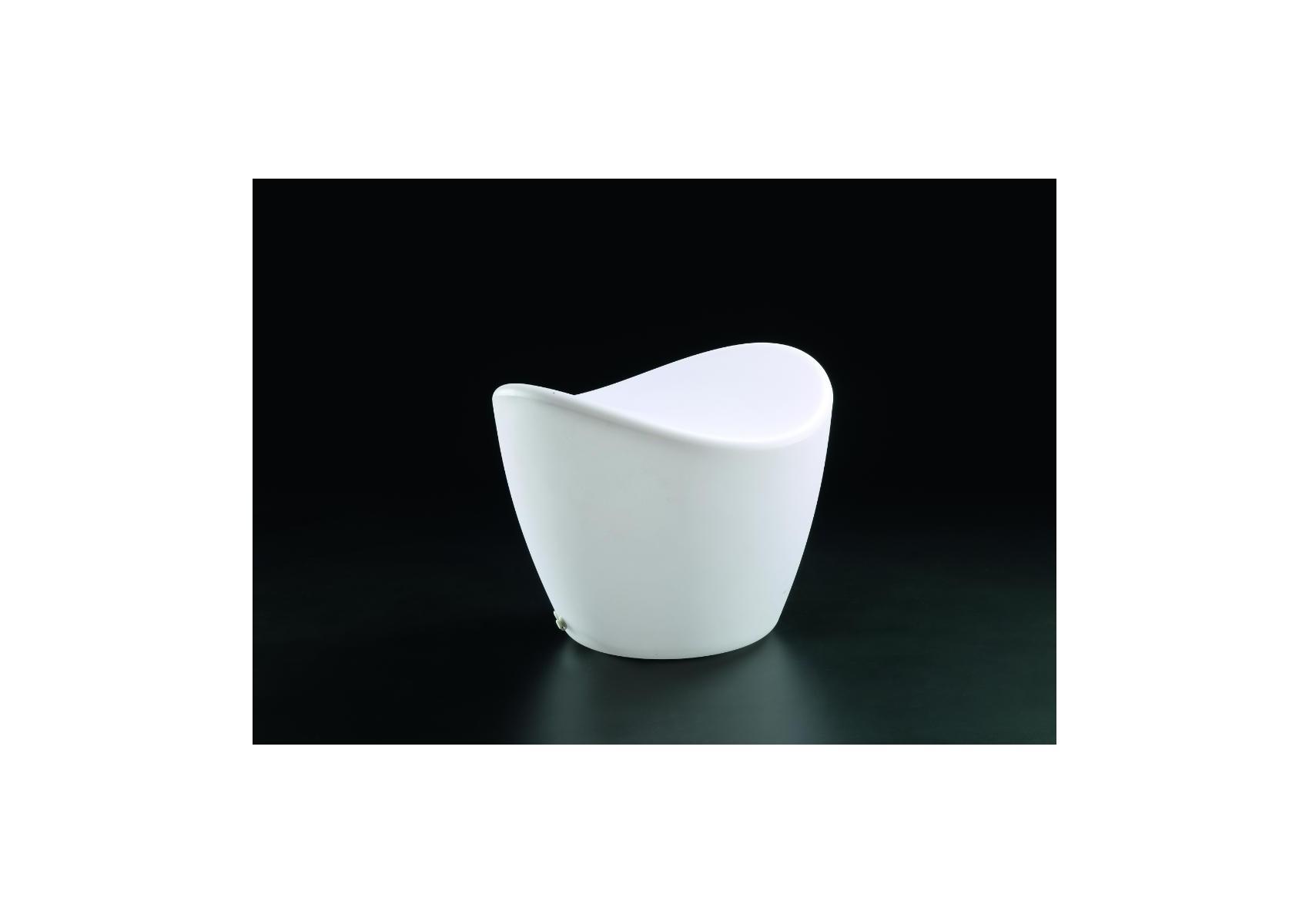 Pouf cool ext rieur lumineux rgb ip65 mantra boite design for Pouf d exterieur