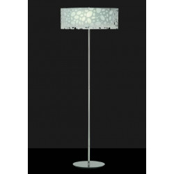 Lampadaire design blanc- Moon