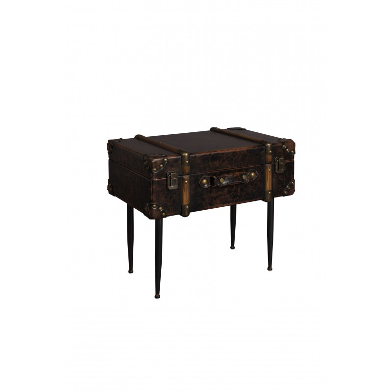 Table d'appoint valise Luggage Dutchbone