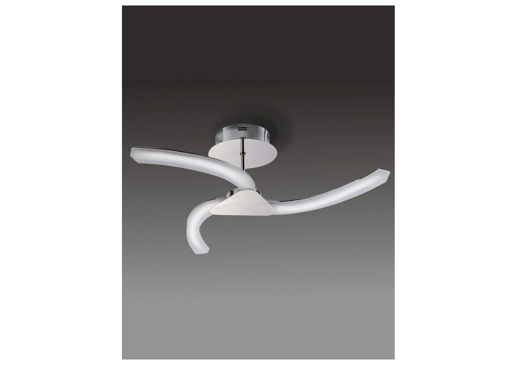 Plafonnier design de la collection ON version 3 lampes de