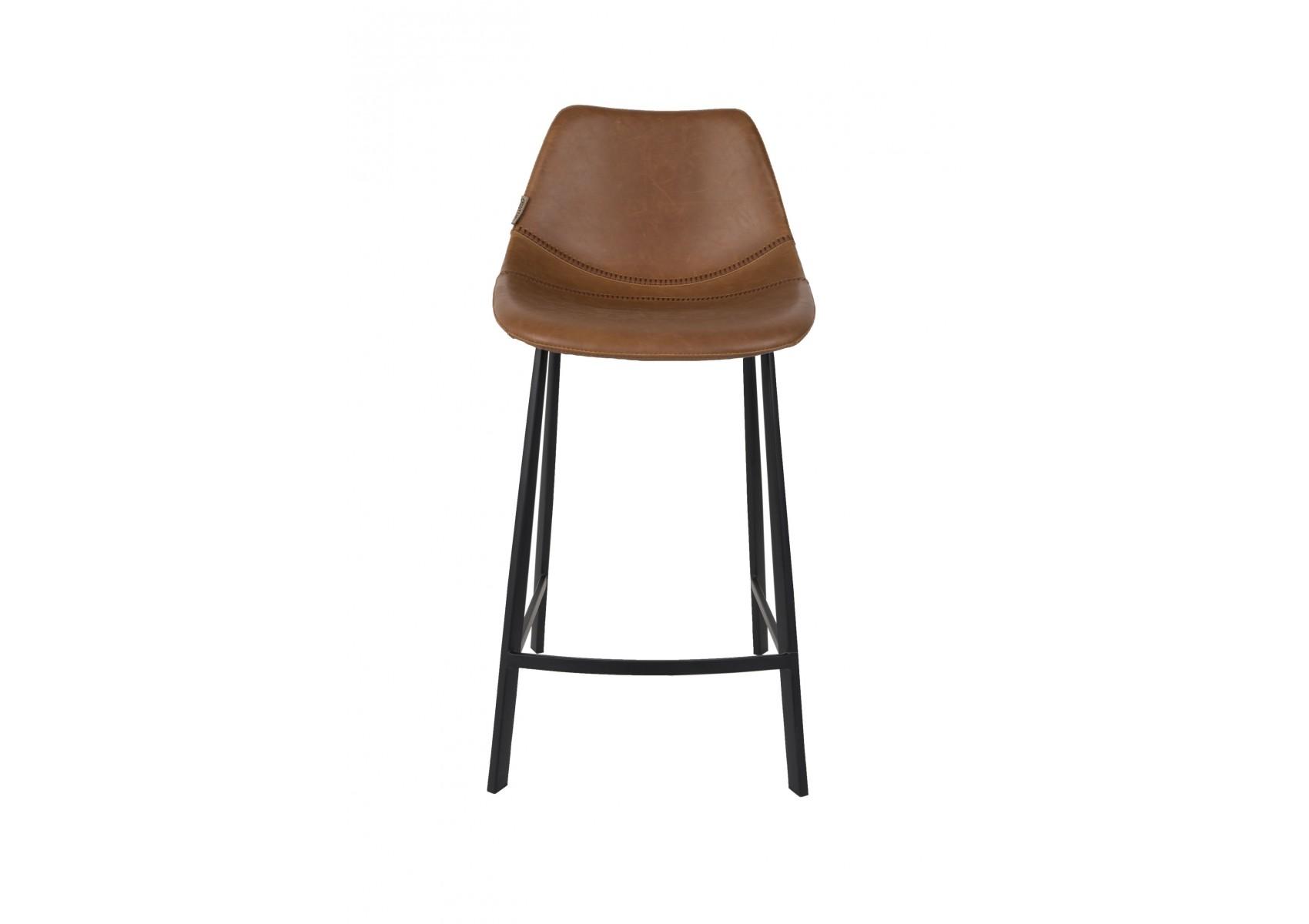 grand tabouret franky vintage dutchbone. Black Bedroom Furniture Sets. Home Design Ideas