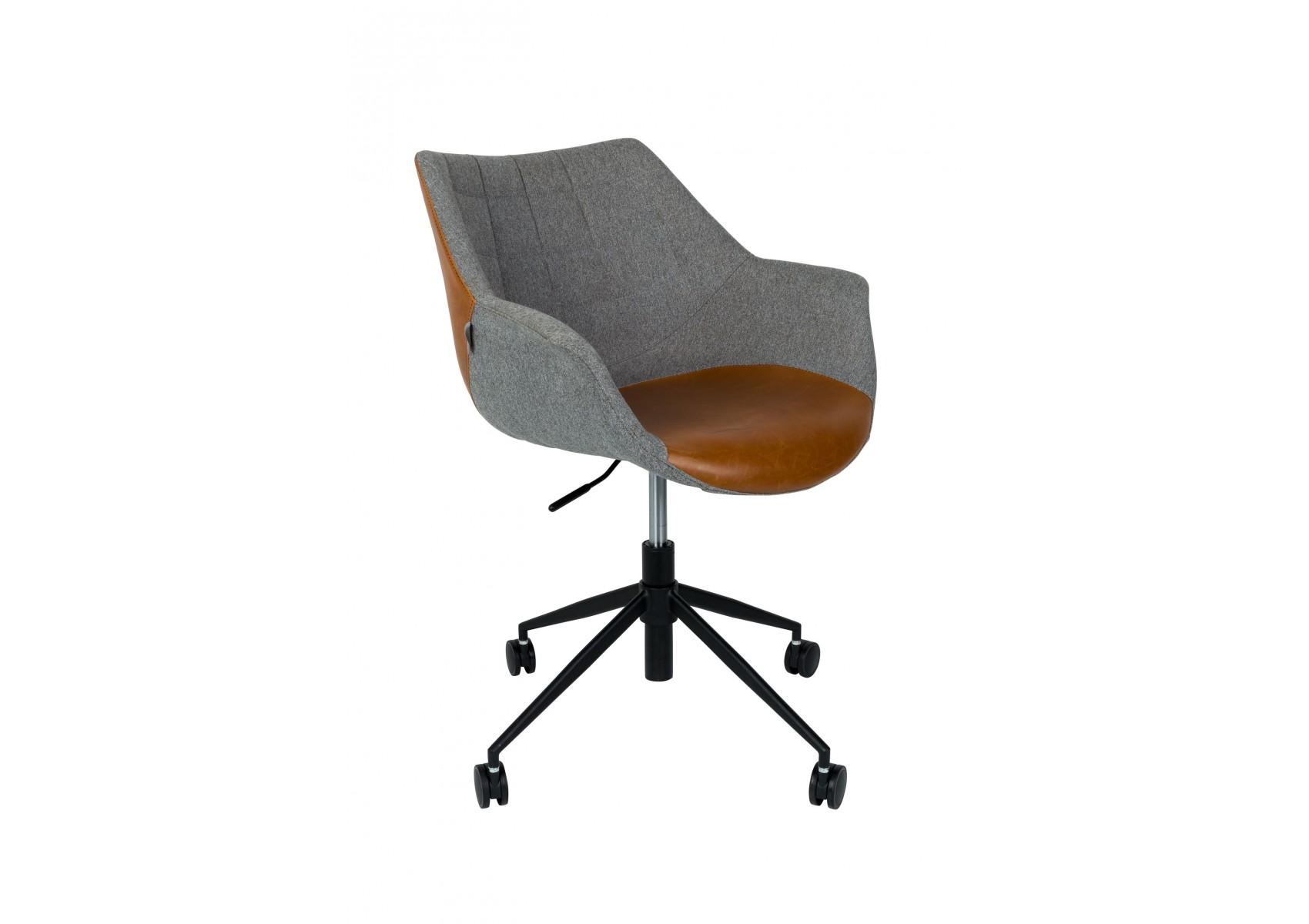 fauteuil de bureau design de la collection doulton office de zuiver. Black Bedroom Furniture Sets. Home Design Ideas