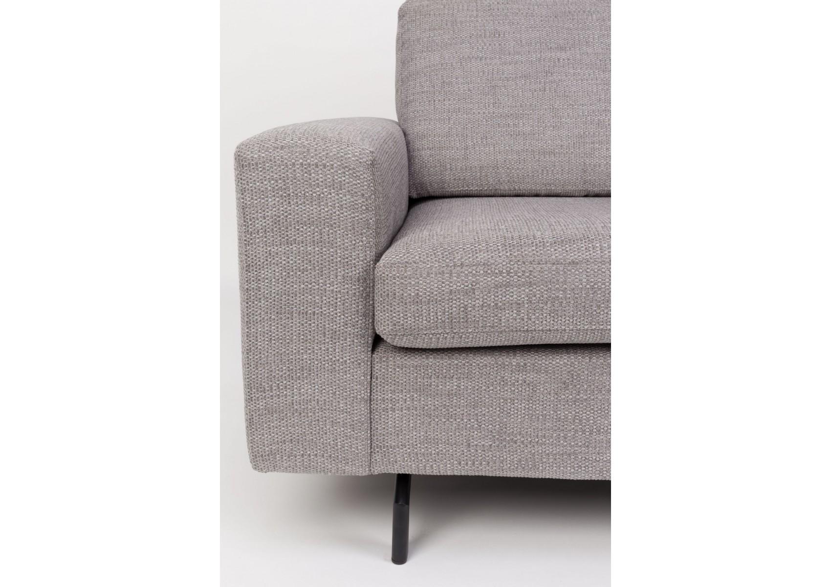 canap design gris de la collection jean de chez zuiver. Black Bedroom Furniture Sets. Home Design Ideas