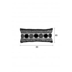 Coussin rectangulaire imprimé graphique Sala - Zuiver