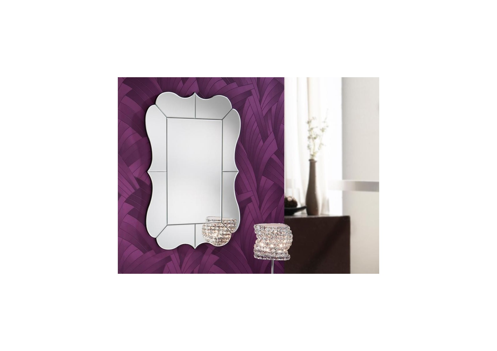 Miroir original design CELIA RECTANGULAIRE - deco schuller