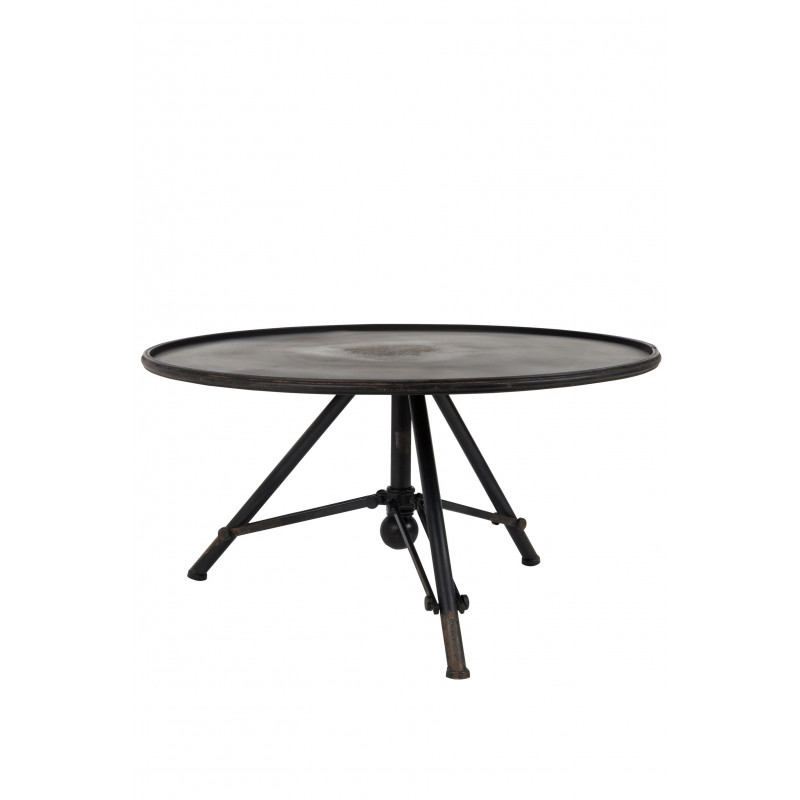 Table basse industrielle vintage Brok