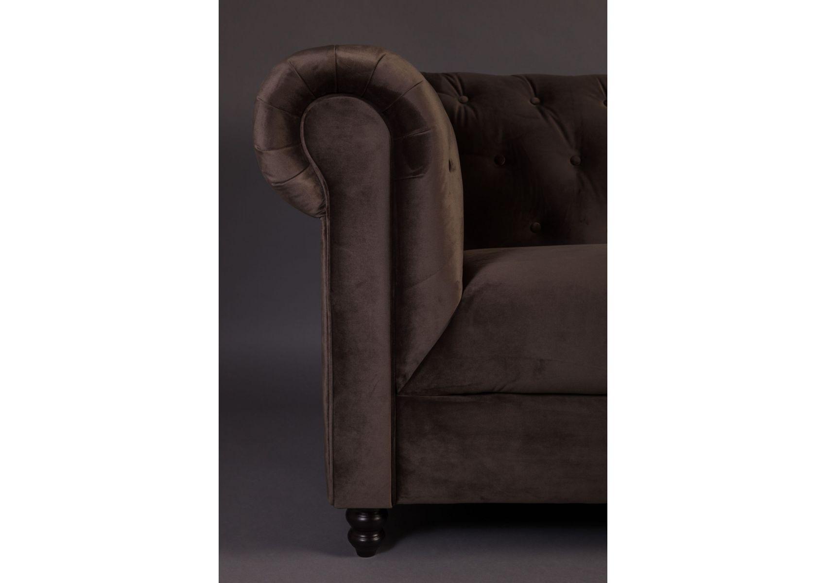 canap design en tissu de la collection chesterfield de chez dutch bone. Black Bedroom Furniture Sets. Home Design Ideas